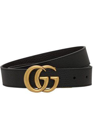 Gucci Miehet Vyöt - 3cm Gg Reversible Leathers Belt