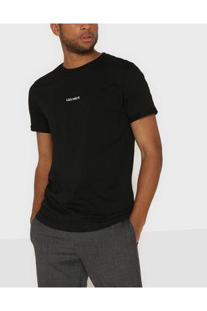 Les Deux Miehet T-paidat - Lens T-Shirt T-shirts & linnen Black/White