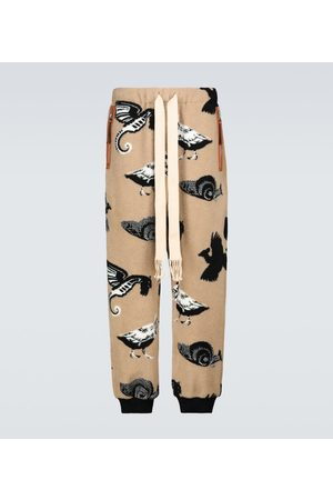 Loewe Jacquard fleece trackpants