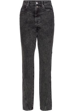 Gestuz Naiset Slim Fit - Aleahgz Hw Jeans So21 Tiukat Farkut
