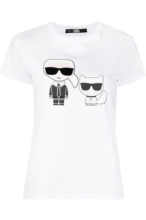 Karl Lagerfeld Naiset T-paidat - Print T-shirt