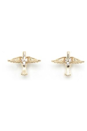 LILY AND ROSE Naiset Korvakorut - Miss Eden Earrings Gold One size