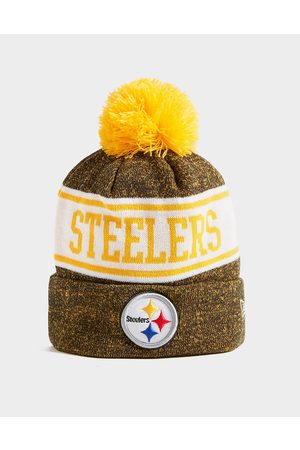 New Era NFL Pittsburgh Steelers Pom Beanie Hat - Only at JD - Mens