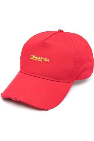 Dsquared2 Miehet Hatut - Embroidered-logo baseball cap