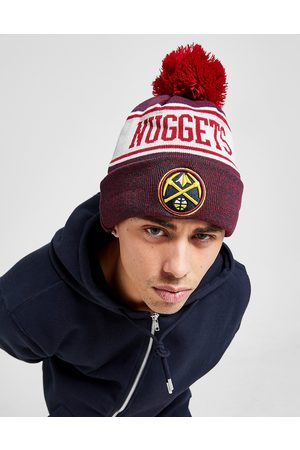 New Era NBA Denver Nuggets Pom Beanie Hat - Only at JD - Mens