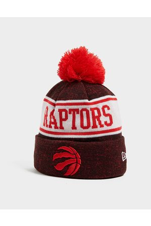 New Era NBA Toronto Raptors Pom Beanie Hat - Only at JD - Mens
