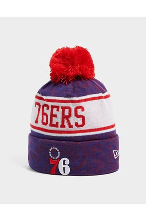 New Era NBA Philadelphia 76ers Pom Beanie Hat - Only at JD - Mens