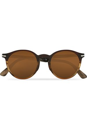 Persol PO3171S Sunglasses Striped Brown
