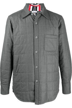 Thom Browne Down-filled twill shirt jacket