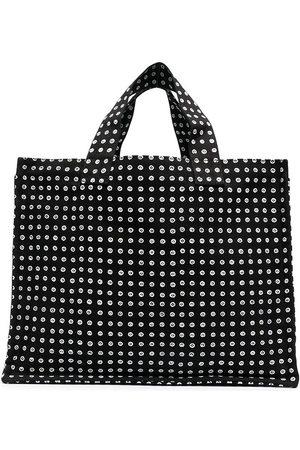 10 CORSO COMO Polka dot print tote bag