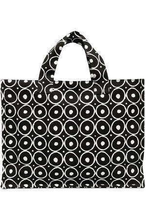 10 CORSO COMO Naiset Ostoskassit - Graphic print cotton tote