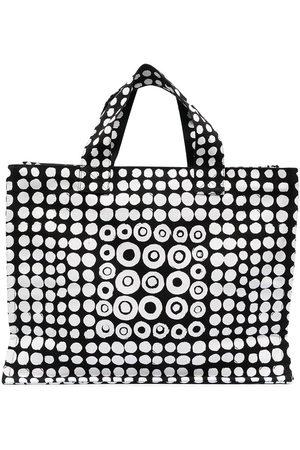 10 CORSO COMO Naiset Ostoskassit - Motif print zip tote bag