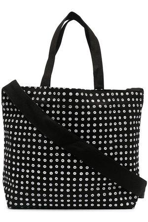 10 CORSO COMO Logo-print small canvas tote bag