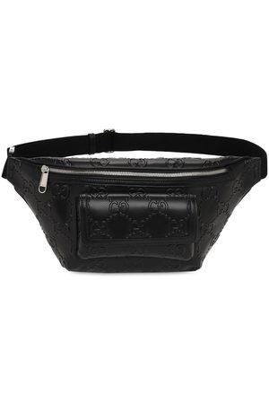 Gucci Miehet Vyölaukut - Gg Embossed Leather Belt Bag