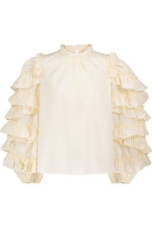 ULLA JOHNSON Pippa cotton blouse