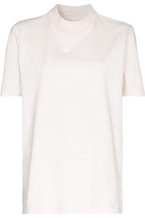 Les Tien Naiset T-paidat - Mock neck T-shirt