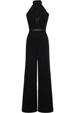 Stella McCartney Viscose Blend Compact Knit Jumpsuit