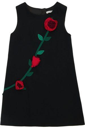 Dolce & Gabbana Tytöt Hihattomat Mekot - Sleeveless A-line Dress W/ Roses