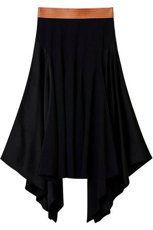 Loewe Naiset Midihameet - Asymmetric Midi Skirt