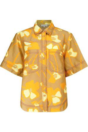 Lee Mathews Wren linen-blend shirt