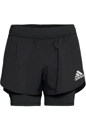 adidas Naiset Shortsit - Fast Primeblue Two-In- Shorts W Shorts Sport Shorts