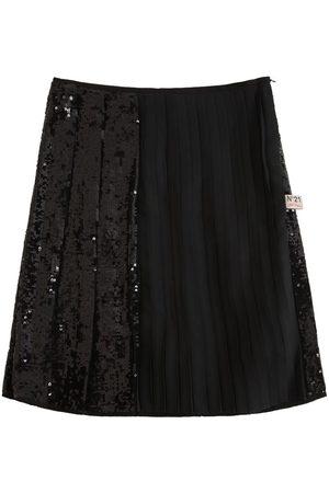 Nº21 Sequins Pleated Skirt