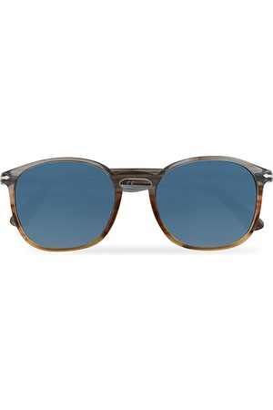 Persol Miehet Aurinkolasit - PO3215S Sunglasses Brown/Gradient Blue