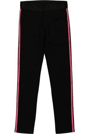 Moncler Stretch-cotton leggings