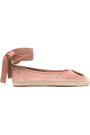Tory Burch Naiset Loaferit - Minnie lace-up ballerina shoes