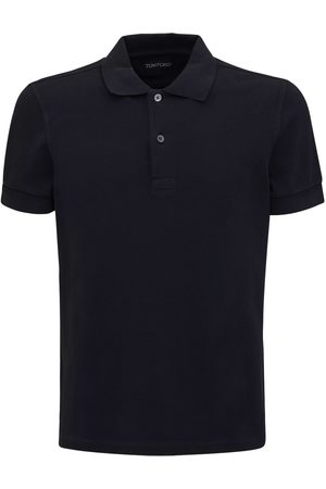Tom Ford Miehet Pikee - Garment Dyed Cotton Polo
