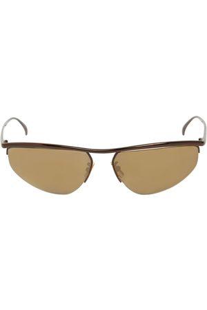 Bottega Veneta Bv1091s Oval Metal Sunglasses