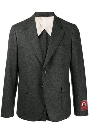 Gucci Logo patch blazer