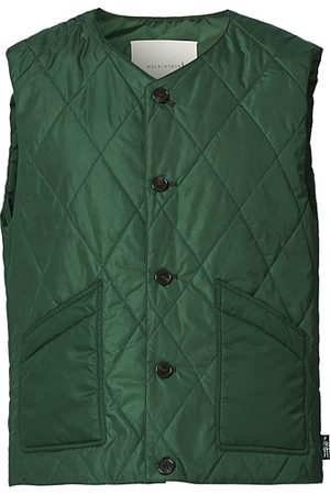MACKINTOSH Miehet Liivit - Hig Quilted Liner Green