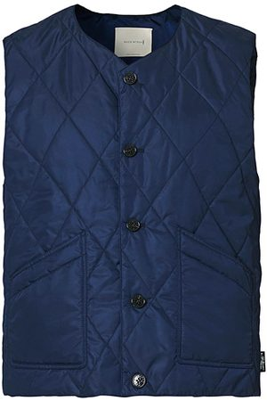 MACKINTOSH Miehet Liivit - Hig Quilted Liner Blue