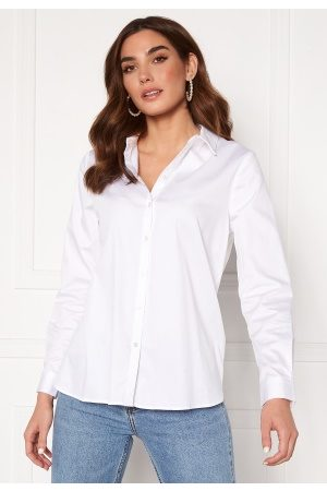 Object Roxa L/S Loose Shirt White 40