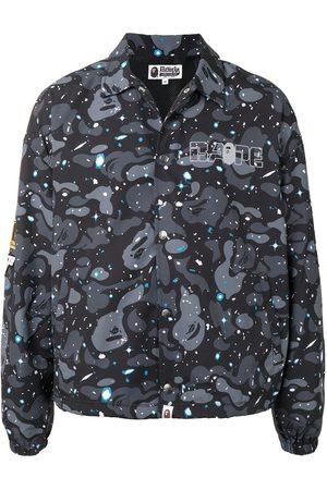A BATHING APE® Miehet Päällystakit - Space Camo-print shirt jacket