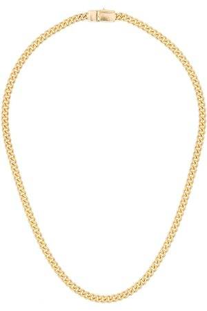 TOM WOOD Thin curb chain necklace