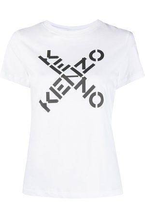 Kenzo Naiset T-paidat - Logo-print T-shirt