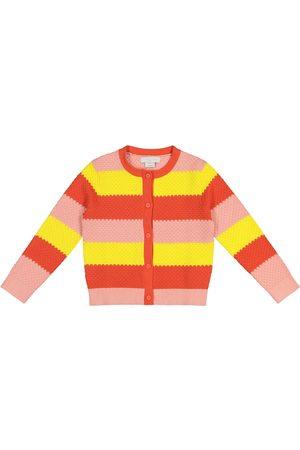 Stella McCartney Striped cotton cardigan