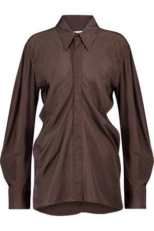 Bottega Veneta Ruched shirt