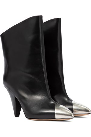 Isabel Marant Lapee leather ankle boots