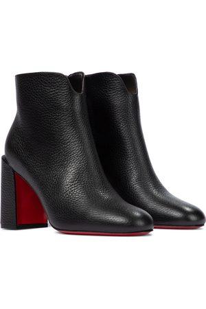 Christian Louboutin Naiset Nilkkurit - Castarika 85 leather ankle boots
