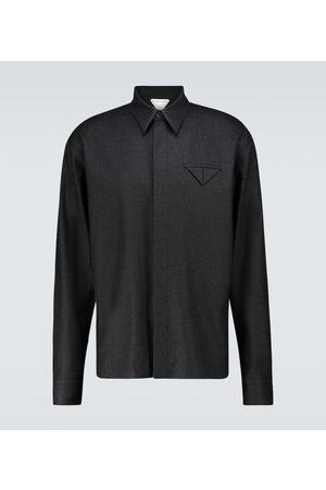 Bottega Veneta Wool flannel shirt