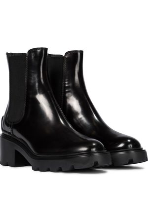 Tod's Patent leather Chelsea boots
