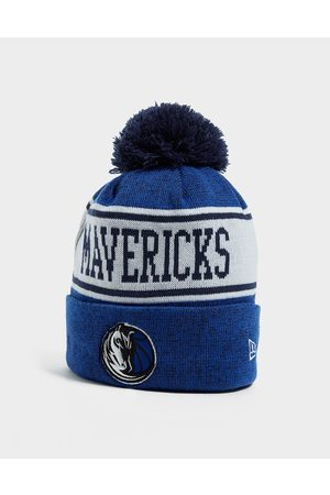 new era NBA Dallas Mavericks Pom Beanie Hat - Only at JD - Mens