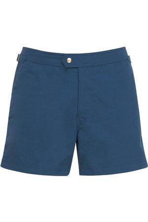 Tom Ford Nylon Faille Classic Swim Shorts