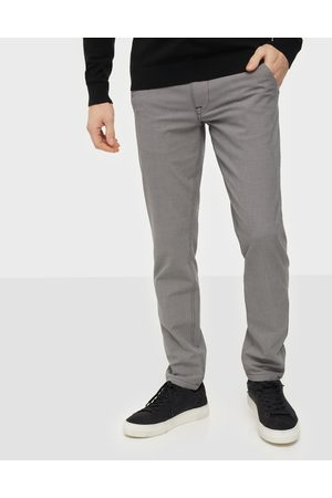 Selected Slhslim-Storm Flex Smart Pants W No Byxor Sand Houndstooth