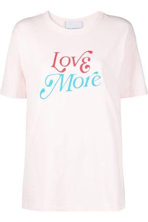 Serafini Naiset T-paidat - Love More t-shirt