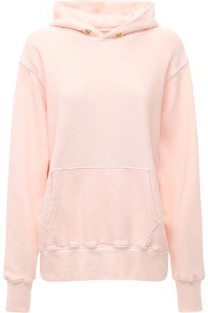 Les Tien Naiset Collegepaidat - Cropped Cotton Sweatshirt Hoodie