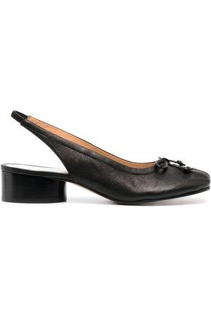 Maison Margiela Tabi bow-detail slingback shoes